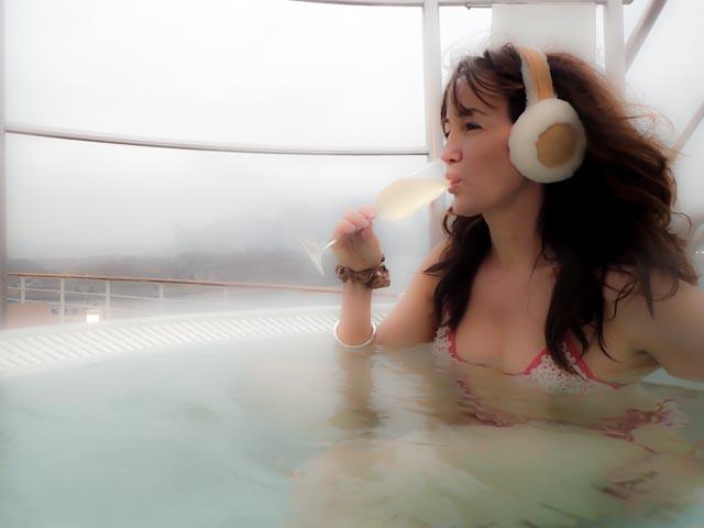 The latest in Winter Wireless Headphones....